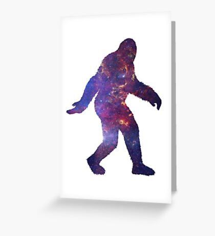 Sasquatch Greeting Card