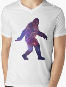 Sasquatch Mens V-Neck T-Shirt