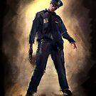 Zombie Cop by trickmonkey
