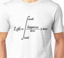 Equation of Life Unisex T-Shirt