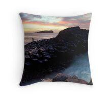 Fingal Headland  Throw Pillow
