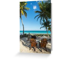 Heaven is a Place on Earth - Tulum  Greeting Card