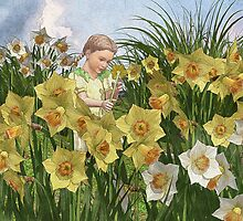 Little Lady of the Daffodils by Juniperbark