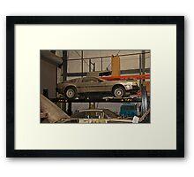 1981 DeLorean DMC-12 'Waiting for the Future' Framed Print