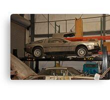 1981 DeLorean DMC-12 'Waiting for the Future' Canvas Print
