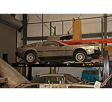 1981 DeLorean DMC-12 'Waiting for the Future' Photographic Print