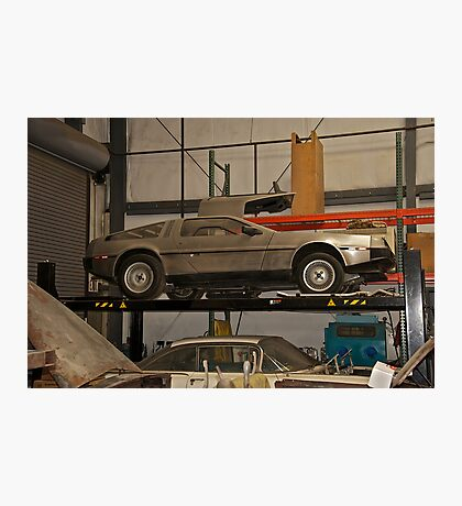 1981 DeLorean DMC-12 'Waiting for the Future' Photographic Print