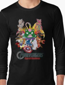 Pokevengers: Age of Mewtron Long Sleeve T-Shirt