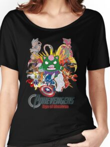 Pokevengers: Age of Mewtron Women's Relaxed Fit T-Shirt