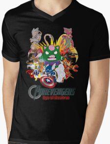 Pokevengers: Age of Mewtron Mens V-Neck T-Shirt