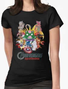 Pokevengers: Age of Mewtron Womens Fitted T-Shirt
