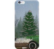 Christmas Tree Hunters iPhone Case/Skin