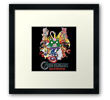 Pokevengers: Age of Mewtron Framed Print