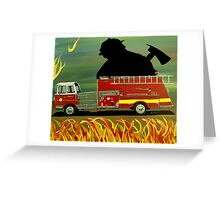 Rescuer Greeting Card