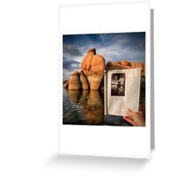 Live Print Greeting Card