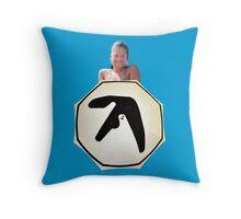 Window Licker - Aphex Twin Throw Pillow