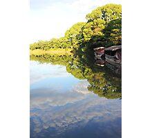 Zen pond Photographic Print