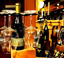 Wine Glasses at Erath Winery in Willamette Valley by WineEventsUSA
