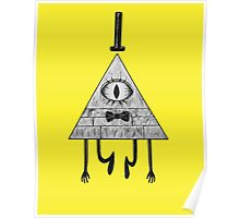 Gravity Falls' Bill Cipher Poster