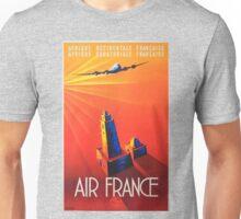Vintage poster - Air France Unisex T-Shirt