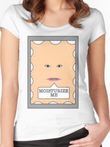 Moisturize me Women's Fitted Scoop T-Shirt