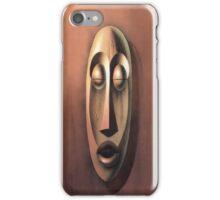 Tiki Copper iPhone Case/Skin