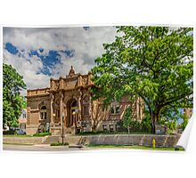 Lawrence Kansas City Library Poster
