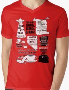Ar-T-Shirt (Get it?) Mens V-Neck T-Shirt