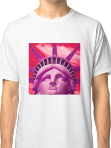 Red Liberty Classic T-Shirt
