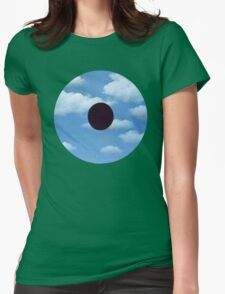 Surrealist Eye Womens Fitted T-Shirt