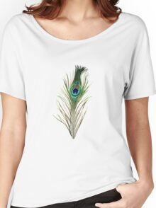 Peacock Women's Relaxed Fit T-Shirt