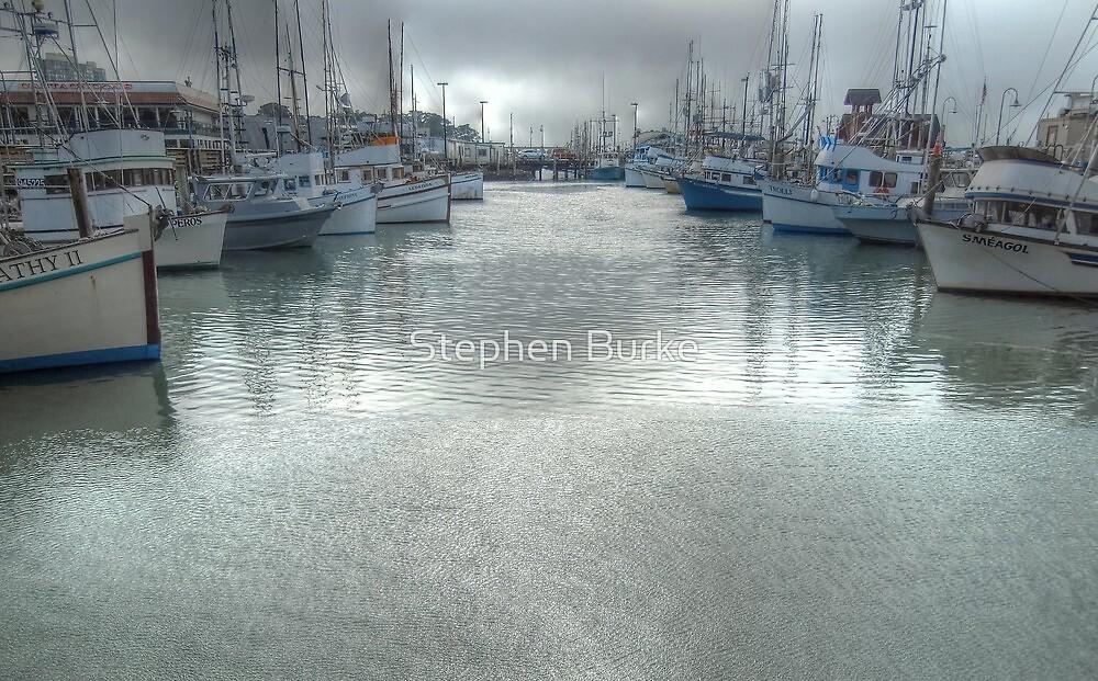 Fishing Boats by Stephen Burke