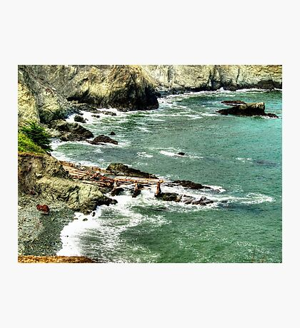 Protected Shore Photographic Print