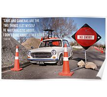 Cars and Cameras  Poster