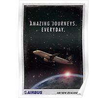 Amazing Journeys. Everyday.  Poster