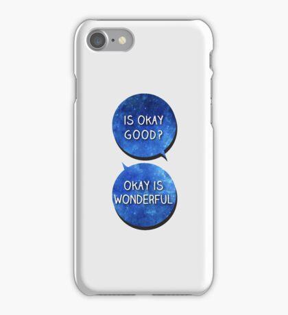 okay is wonderful. iPhone Case/Skin