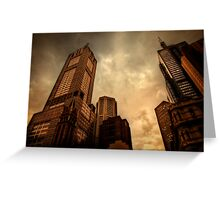 Monoliths of Melbourne [Prints, iPhone/iPod cases] Greeting Card