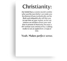 Christianity - cosmic jewish zombie Metal Print