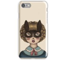 Ceremony - Masked Bunny lass iPhone Case/Skin