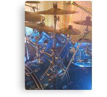 Blue Drum Canvas Print