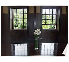 House For An Art Lover, Dining Room Windows Poster