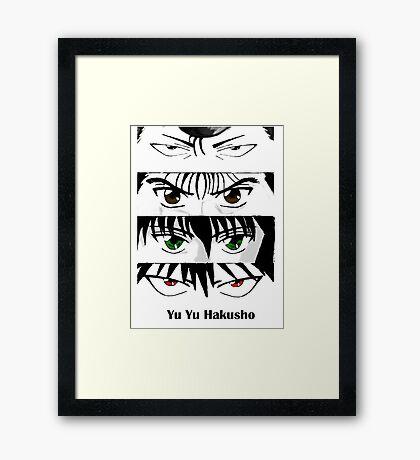 Yu Yu Hakusho Framed Print