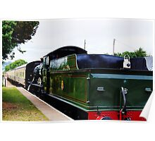 Steam Hauled MK1 carriages. Poster