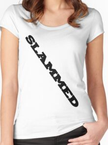 SLAMMED - No Extra Border! Women's Fitted Scoop T-Shirt