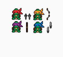 Teenage Pixel Ninja Turtles Unisex T-Shirt
