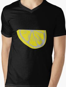 Slice of lemon Mens V-Neck T-Shirt