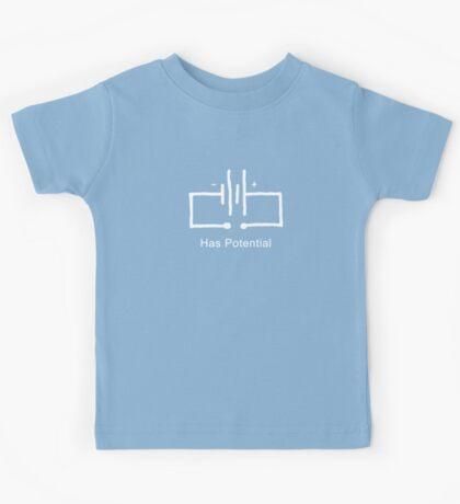 Has Potential - T shirt Kids Tee
