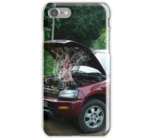 """DID U EVER HAVE ONE OF THOSE DAYS?""..""STRANDED"" - ""LET ME GUESS?? YOUR WISH IS A NEW ENGINE""-LOL iPhone Case/Skin"