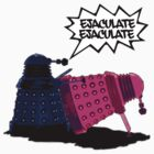 Funny,rude Dr Who and the Daleks by Sevetheapeman