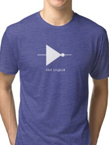 Not Logical  - T Shirt Tri-blend T-Shirt